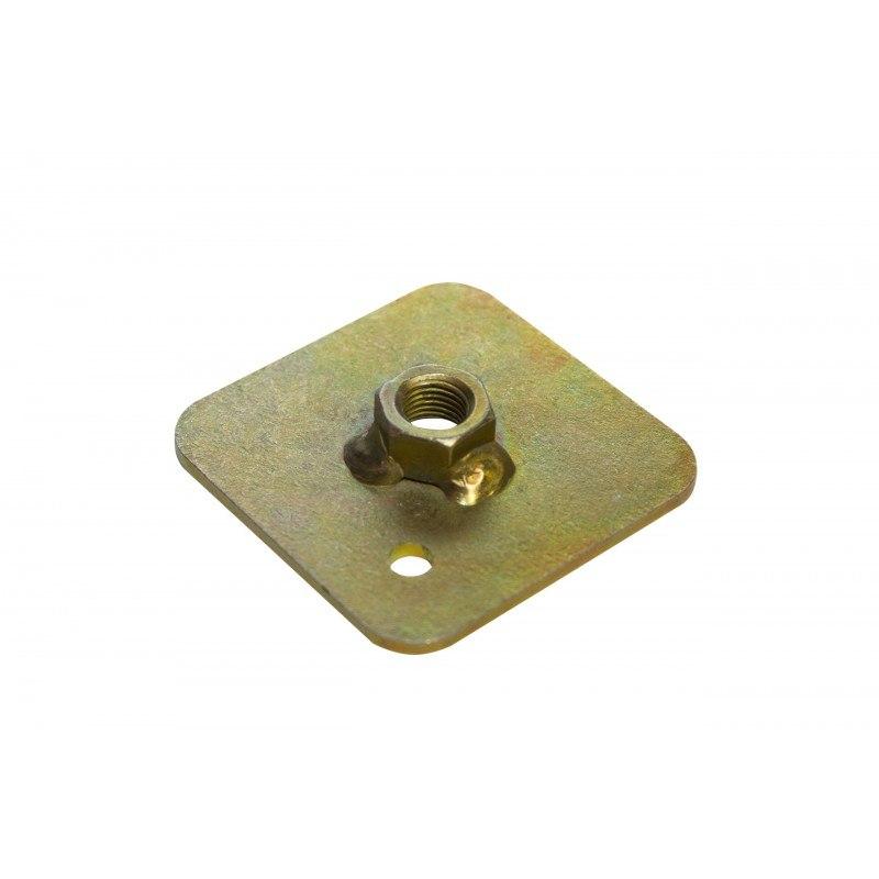 Mocowanie pasów - płytka z nakrętką - GRUBYGARAGE - Sklep Tuningowy